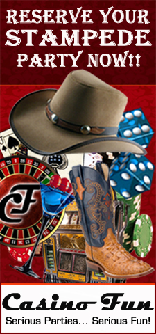 Reserve Your Stampede Party Now!